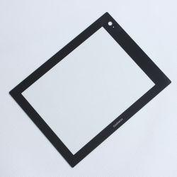 Protecteur de l'écran tactile trempé personnalisé Elctric panneau en verre de contrôle d'affichage