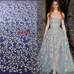 Neue Großhandelsform-elegantes Stickerei-Gewebe für Hochzeits-Kleid oder Abend-Kleid
