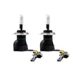 Автомобильный комплект ксеноновых огней высокой интенсивности H4 Высокая Низкая H4-3 Hi/Lo Car биксеноновые лампы HID комплекты Hi Lo 35 Вт лампа дальнего света для поло