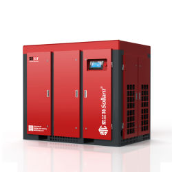90kw 125HP 영구 자석 압축기 교류 전원 기름에 의하여 기름을 바르는 고압적인 회전하는 나사 유형 공기 압축기