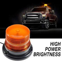12V 담배 점화기 플러그를 가진 LED 스트로브 밝은 노란색 호박색 경고등 최고 밝은 비상사태 경고 저속한 표시등