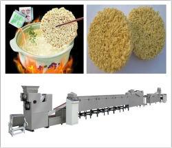 آلة النودلز الفورية /الأرز خط إنتاج النودلز الفوري