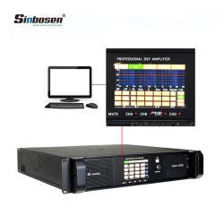 DSP10000qの専門家4チャネル2100のワットDSPのアンプはコンピュータ・ソフトウェアによって制御することができる