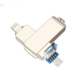 Флэш-накопитель USB 32 ГБ привод пера для iPhone X 8 8 плюс 7 7 Plus USB-накопитель 8 ГБ металлический диск 16 ГБ флэш-накопитель USB 3.0