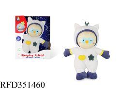 Baby van de Pluche van de Slaap van de Baby van de Hulp van het Stuk speelgoed van Doll van de Uil van de Slaap van de baby de Zachte Vriendschappelijke - pop