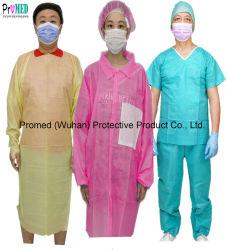 ISO13485, FDA, CE ha certificato il fornitore per medico/ospedale/prodotti protettivi industryDisposable, abito a gettare/usura