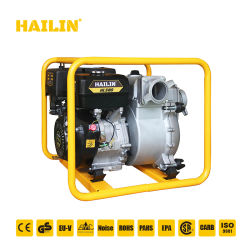 3 '' 3 Zoll-Hochleistungsabfall-Pumpen-Set, elektrischer Selbst, der zentrifugale Abfall-Wasser-Pumpe, Schlamm-Pumpe, Diesel/Gasrohrleitung-Motor-Pumpe grundiert