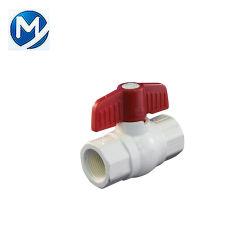 Пластиковый трубный фитинг ПВХ материал шаровой клапан системы впрыска пресс-формы