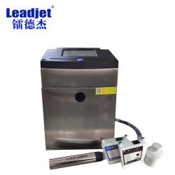 White Cij Inkjet Printing Machine الأسعار على الانترنت Ink-Jet Coding Machine