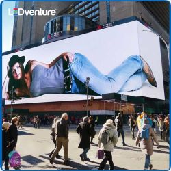 Publicidade de exposições ao ar livre P10 painel do ecrã LED