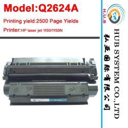خرطوشة حبر ليزر أصلية (OEM) لخراطيش طباعة HP 2624A/C3906A