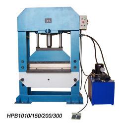 Prensa hidráulica máquina de doblado (HPB-1010)
