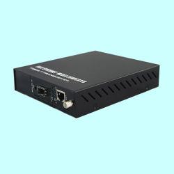 De verre Geleide Convertor van Media 10/100/1000Mbps Oam (MC0101GM)