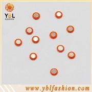 Корейский 3мм оранжевый Паско Rhinestud YPR-03