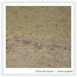China/ Amarelo indiano para casa de banho em granito e azulejos Vanitytop (Caxemira ouro)