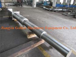 SAE1045 pesado el eje de acero al carbono forjado