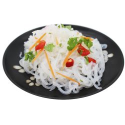 Shirataki Konjac Coreano macarrão instantâneo com pacote personalizado alimentos instantâneas aletria