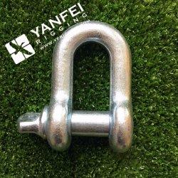 G2150 Us Type Boulon Ancre Shackle, D Shackles