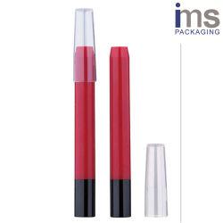 Bolígrafo automático de plástico redondo caso
