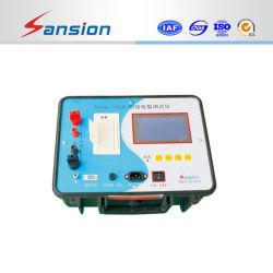 Jeux de tests de résistance de contact mesure la résistance des contacts électriques des isolateurs& barre bus