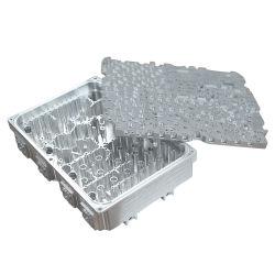 Fábrica de Dongguan fresado CNC de aluminio personalizados piezas para el dispositivo de telecomunicaciones
