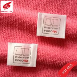 衣類またはワイシャツのための2019の習慣の高品質のシルクスクリーンの心配の印刷のラベル