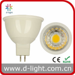 MR16 5W Lens Plastic Warm White High Power Spot Light