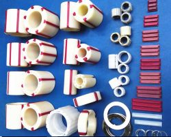 Tension du rouleau de support de base en plastique de la bague de manchon (frizione + rouge barre en T + spring) pour BOPP Machine de refendage de bande