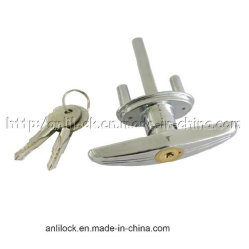 Cerradura de puerta Carbarn, en el mango de bloqueo, bloqueo de la empuñadura de puerta, Auto Lock (CD-101)
