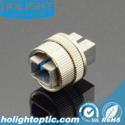 Atenuador de fibra SC ajustável para cabo de fibra óptica