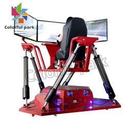 Colorfulpark 3 스크린 경주용 차 /Game 기계 아케이드 게임 아케이드 기계 비디오 게임 또는 게임 기계 또는 경주용 차