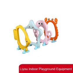 Novo parque infantil interior Euipment Play Mar jogos Jogo Infantil de plástico de animais de caça do Furo