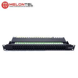 Mt-4003 50 портов Cat 3 телефонных коммутационной панели