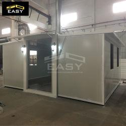 Faible coût de l'Installation rapide de la SGS CE certifié Préfabriqué modulaire mobile préfabriqués de deux chambres pour les maisons d'énergie éolienne