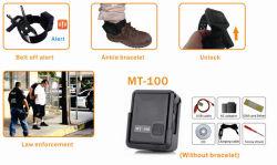 Neues Arrival Mini GPS Tracker Waterproof Mt100 für Outdoor Staff, Children, Old Man, Disabled People und Pet mit Vibration Alarm
