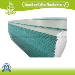 لوح الجبس المقاوم للماء حجم قياسي/لوح الجص الجدار الجافّ الصين الشركة المصنعة