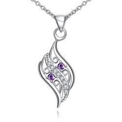 Deux tons en filigrane Cercle Celtique CZ Poignée de commande de fleurs bijoux en argent