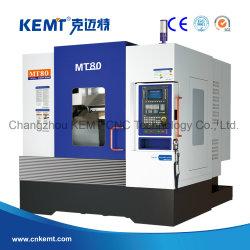 (MT80) مركز الميكنة الرأسية CNC عالي الصلابة والكفاءة العالية 10000 دورة في الدقيقة سرعة دوران Bbt40 مع نظام VMC من Siemens 828d