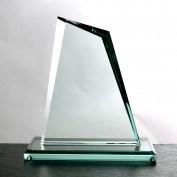 Jade-Glashöchstpreis-Trophäe