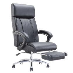Silla de escritorio de dormir cómoda con respaldo reclinable y reposapiés