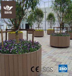 나무 플라스틱 복합 WPC 화분 정원 플레이터
