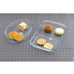 Bakeware de vidrio para horno microondas y lavavajillas Cocina Horno