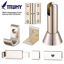 Partição de WC em liga de alumínio de liga de alumínio Acessórios/WC as conexões do Compartimento