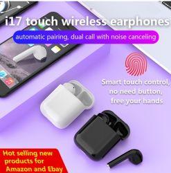 i17 TWS Wireless Bluetooth イヤホンヘッドフォンイヤフォン True Stereo スマートフォン iPhone 5g/4G/3G/iTouch/ の場合 iPod/iPad/MP3/MP4 プレーヤー