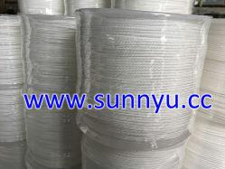 Hilo de nylon trenzado de diamantes de la cuerda, el PP trenzado sólidos plásticos plásticos de embalaje del molinete cuerda
