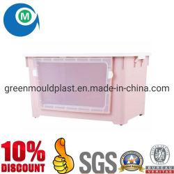 Casa de inyección de plástico molde molde de la jaula de la casa de Pet