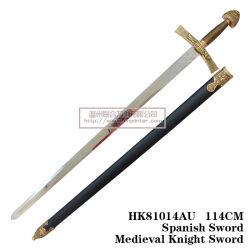 O Lion Espada Espadas Medievais União Espadas 114cm
