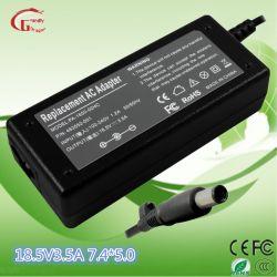 HP 65W 18.5V 3.5A DC7.4*5.0 Chargeur de batterie externe portable AC adaptateur d'alimentation CC