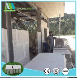 Sanduíche de espuma de poliuretano exterior do painel de parede para Prefab House