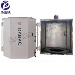 A evaporação térmica Metallizing revestimento PVD System Talheres de plástico brinquedo